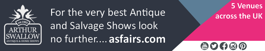 Antiques News & Fairs - Arthur Swallow Fairs' Spring Update 2021