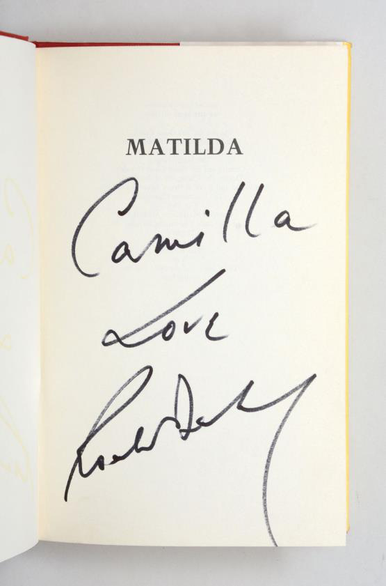 Antiques News & Fairs - Peter Harrington - Matilda by Roald Dahl is 30!