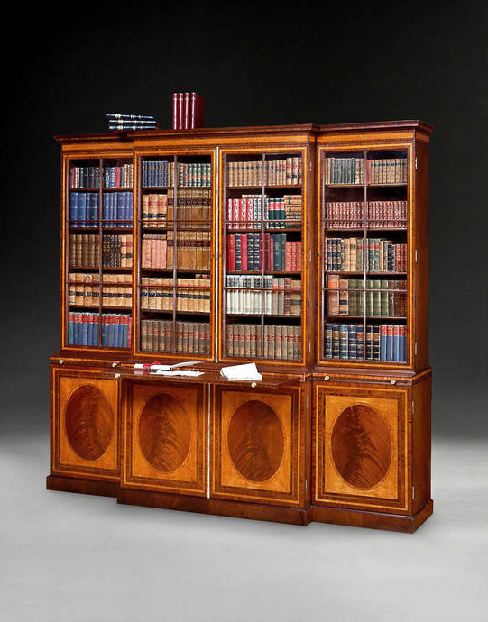 Antiques News & Fairs - W.R. Harvey & Co. (Antiques) Ltd Exhibition: 'A Volume Libraries - An Open and Shut Case'
