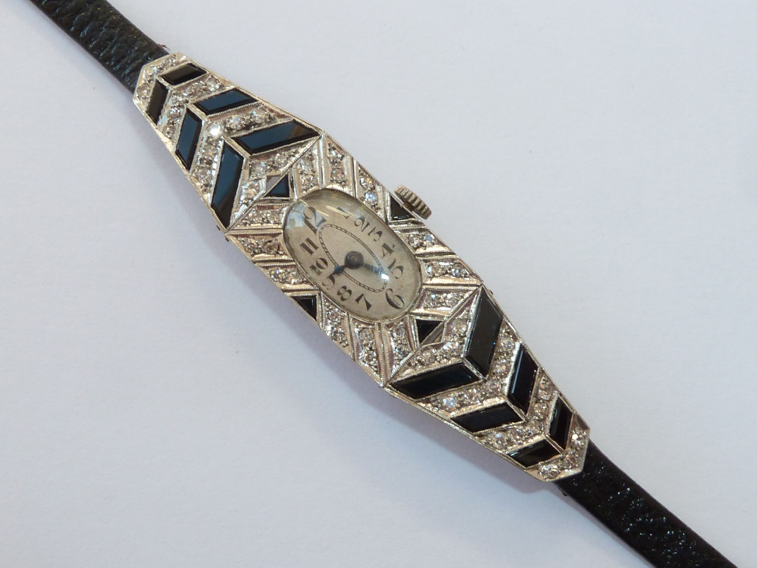 Art Deco watch, from T. Robert