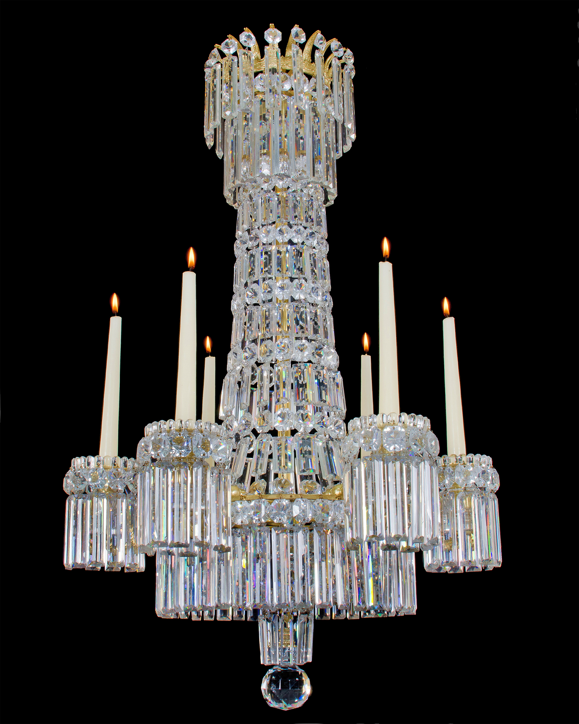 Regency chandelier, from Fileman Antiques