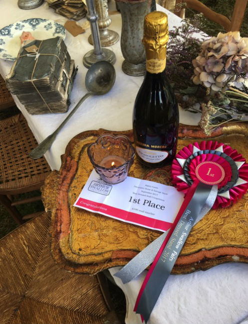 Antiques News - Antiques Fair - Arthur Swallows Fairs Closes Summer with Inaugural Best Dressed Stand Awards
