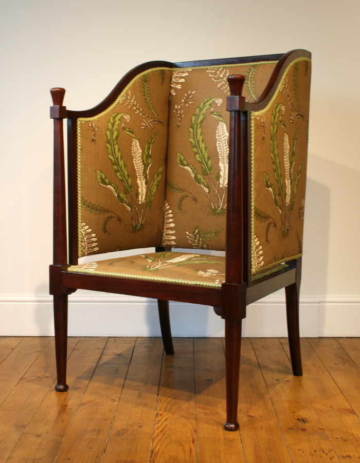 Arts & Crafts Porter's Hall Chair, from Marvellous Furniture