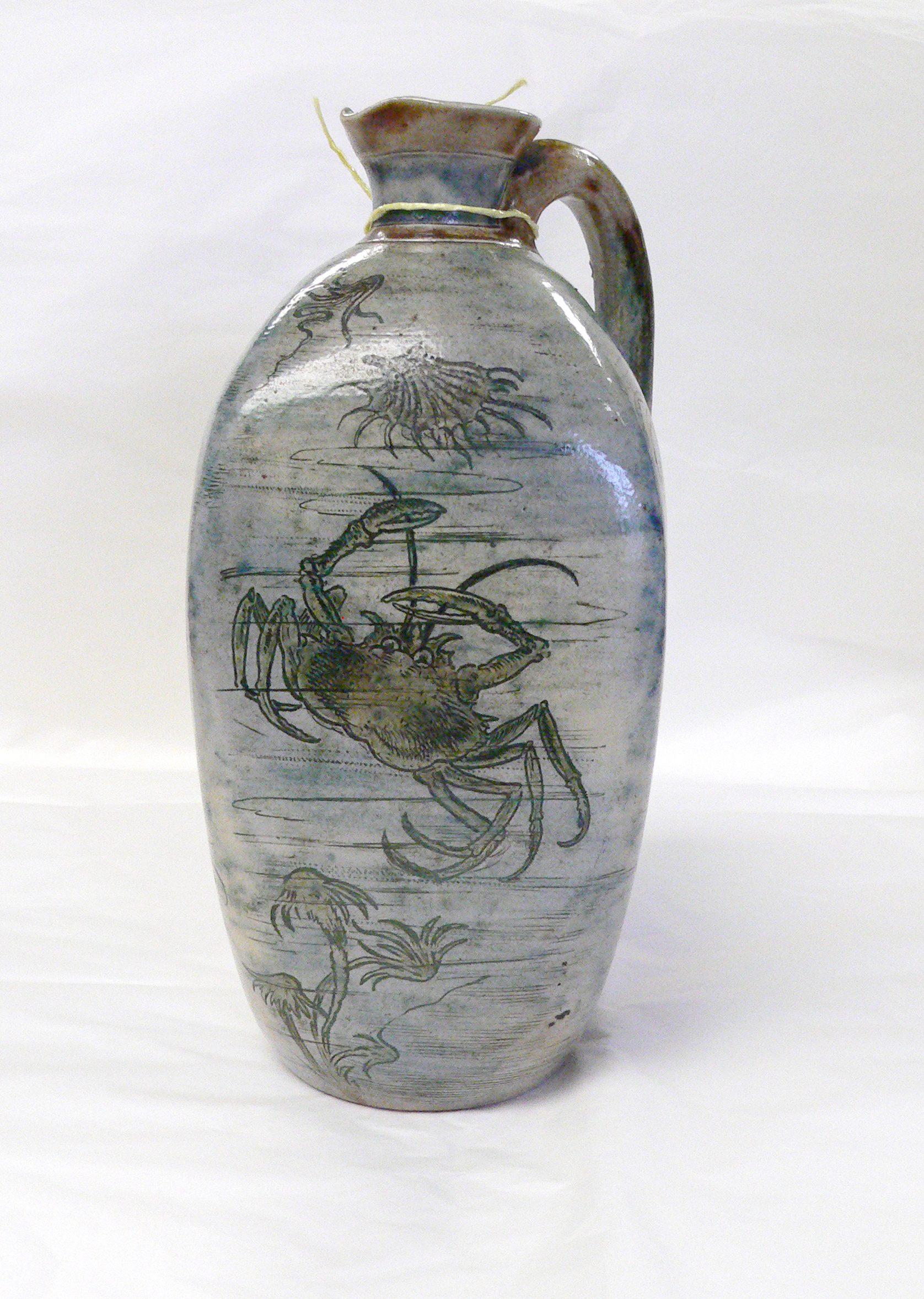 Martin Brothers Crab Vase