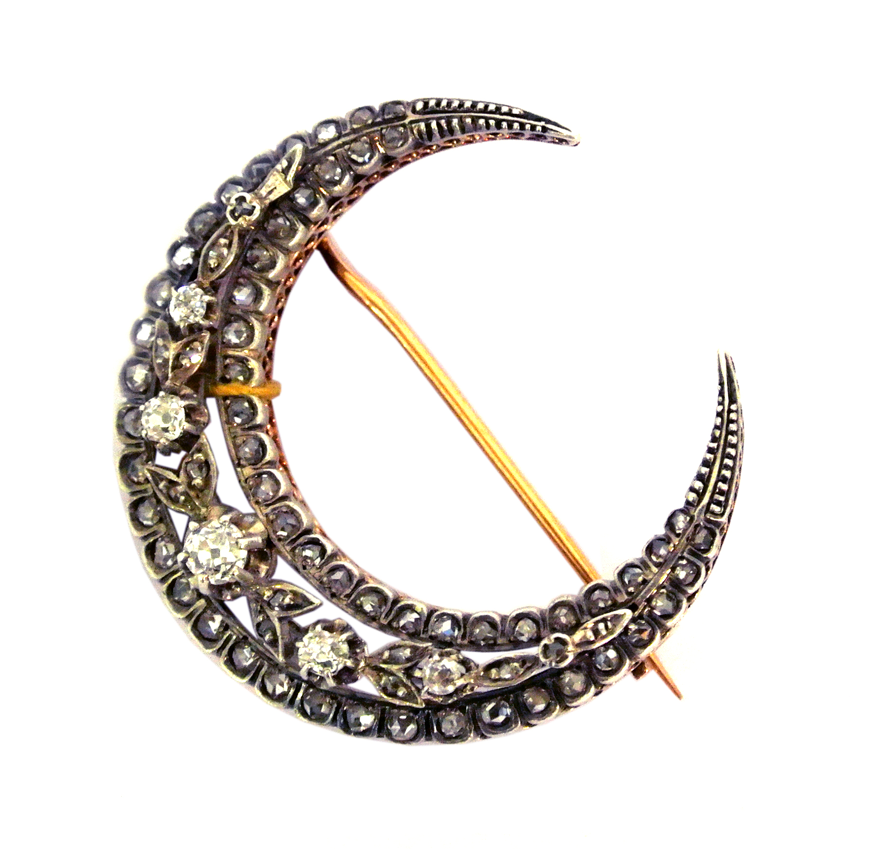 Victorian crescent brooch, Emmy Abe at Grays