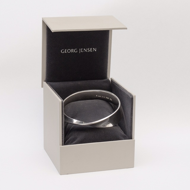 Silver Georg Jensen Bangle