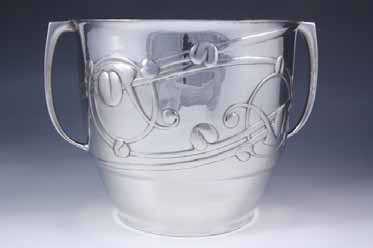 Archibald Knox for Liberty & co. champagne bucket £2,250 from Titus Omega