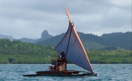 Traditional Fijian Canoe