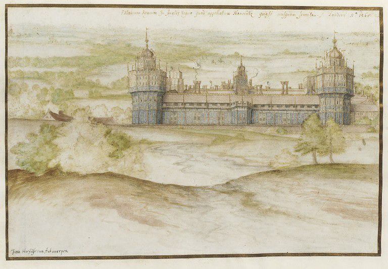 Nonsuch Palace by Joris Hoefnagel