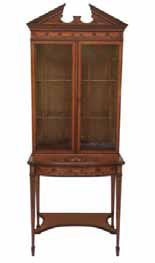 Edwards & Roberts satinwood cabinet, £2,950 from Tim Saltwell