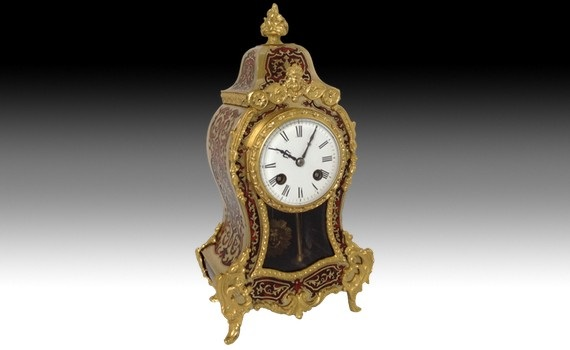 Tim Saltwell Antiques boulle clock